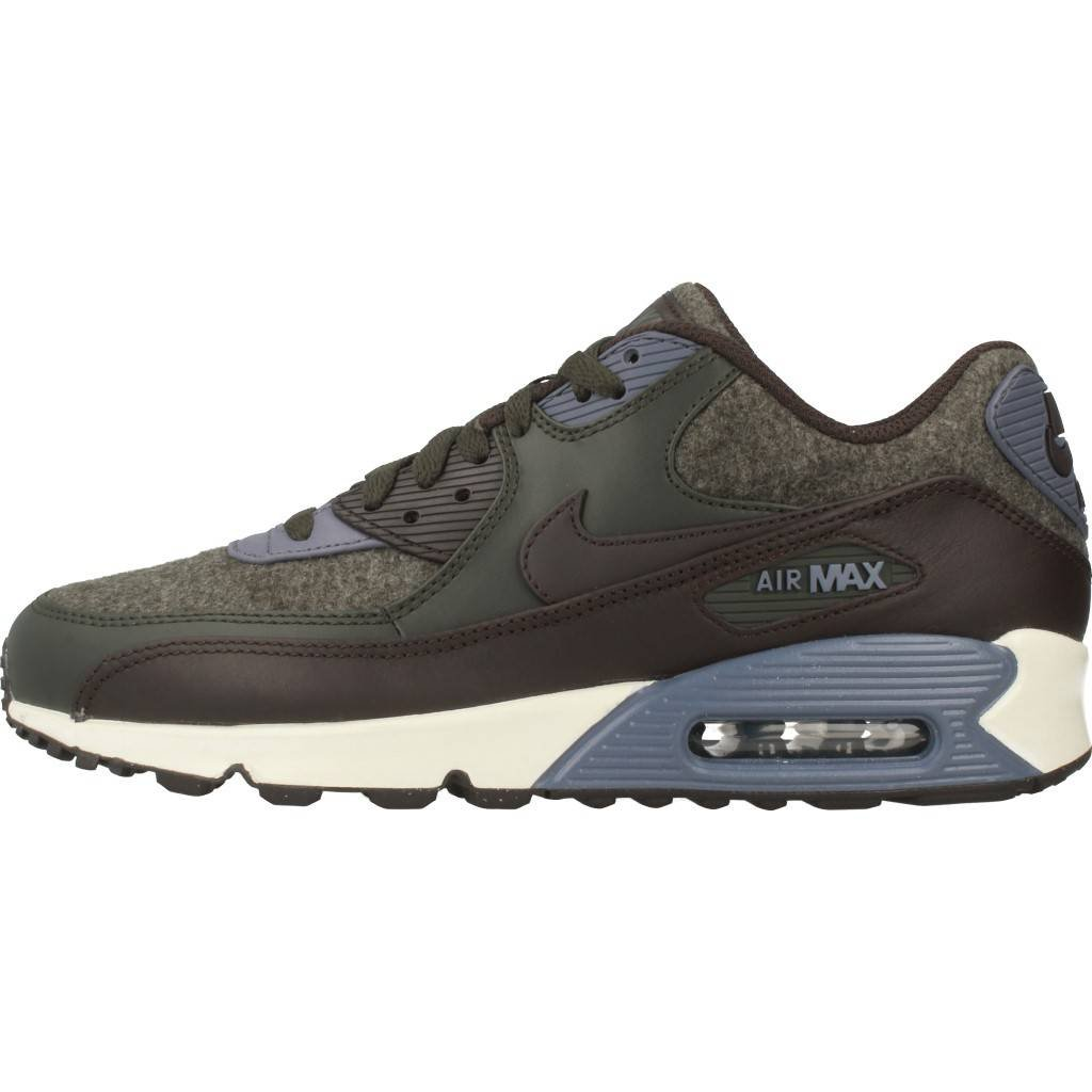 new style feab4 18d8a Amazon.com   Nike Mens Air Max 90 Premium Wool Pack Shoes Sequoia Velvet  Brown Light Carbon 700155-300 Size 10   Athletic