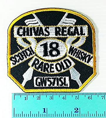 Chivas Regal scotch 18 whisky rare old logo Jacket T Shirt Patch Sew Iron on Embroidered Symbol Badge Cloth Sign Costume