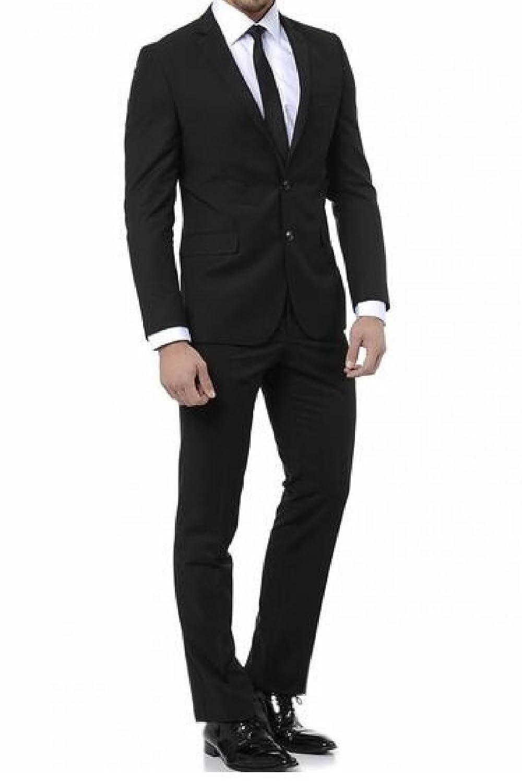 keskin collection - Pantalón de traje - para hombre negro 52 ...