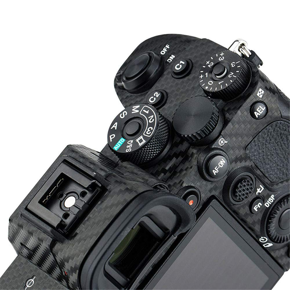 Anti-Scratch Camera Body Skin Cover Protector for Sony A7II A7SII A7RII 3M Sticker//Shadow Black Fits A7M2 A7SM2 /& A7RM2 Only
