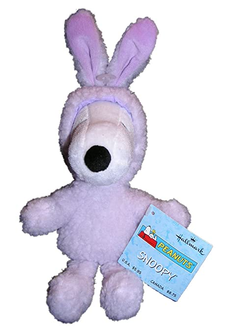 Amazon hallmark peanuts plush snoopy easter bunny rabbit by hallmark peanuts plush snoopy easter bunny rabbit by hallmark snoopy negle Image collections
