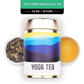 Amazon.com : Udyan Yoga Tea, 50 gm (20 cups) | Wellness Tea ...