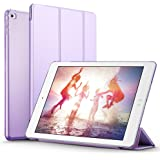 iPad Mini 4 Case (NOT for iPad Mini 1/2/3), ESR iPad Mini 4 Smart Case Cover Synthetic Leather and Translucent Frosted Back Magnetic Cover with Auto Wake & Sleep Function for Apple iPad Mini 4 (Fragrant Lavender)