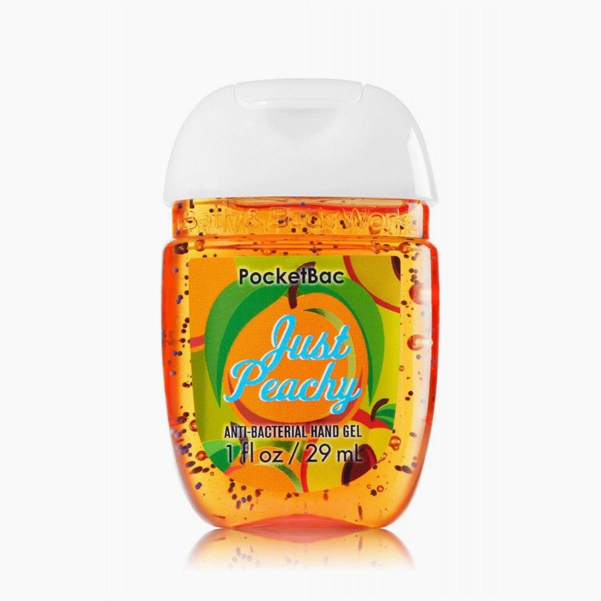 Bath & Body Works PocketBac Hand Gel Sanitizer Just Peachy