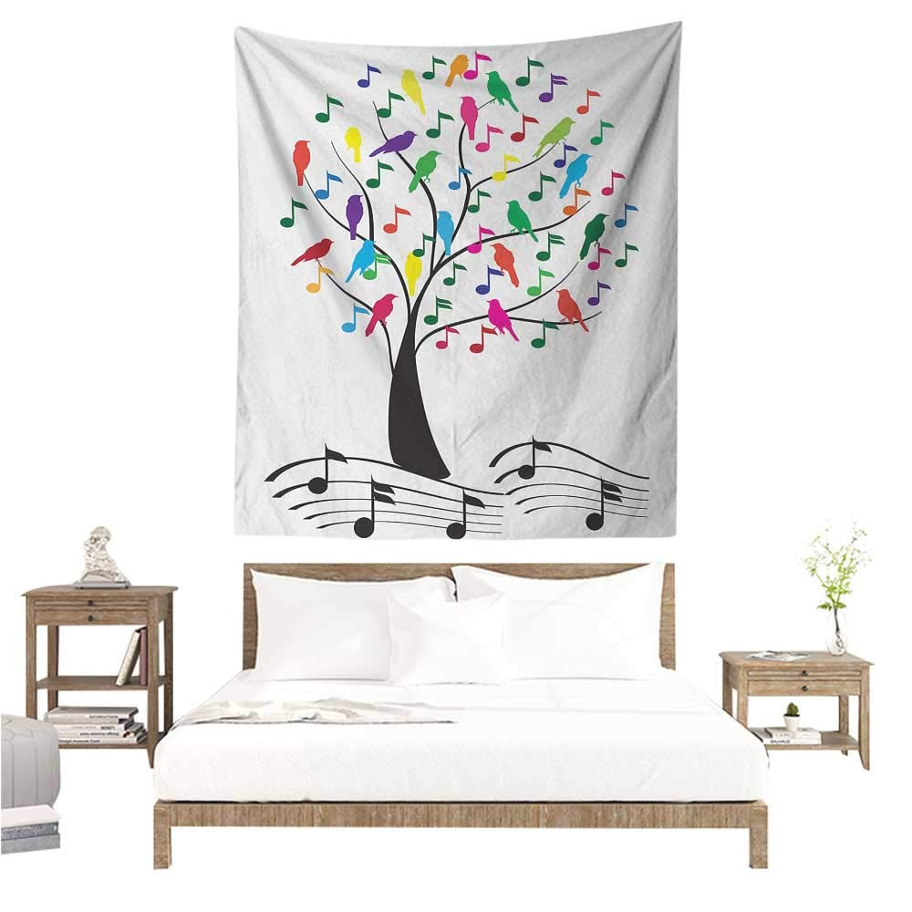 Amazon.com: Willsd Music Tapestry for Living Room Symbolic ...