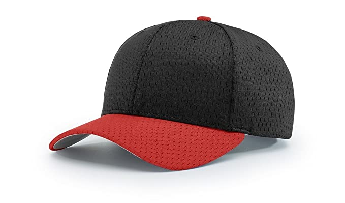 5d2a3a9856439 Richardson 414 Pro Mesh Adjustable Blank Baseball Cap Fit Hat at ...