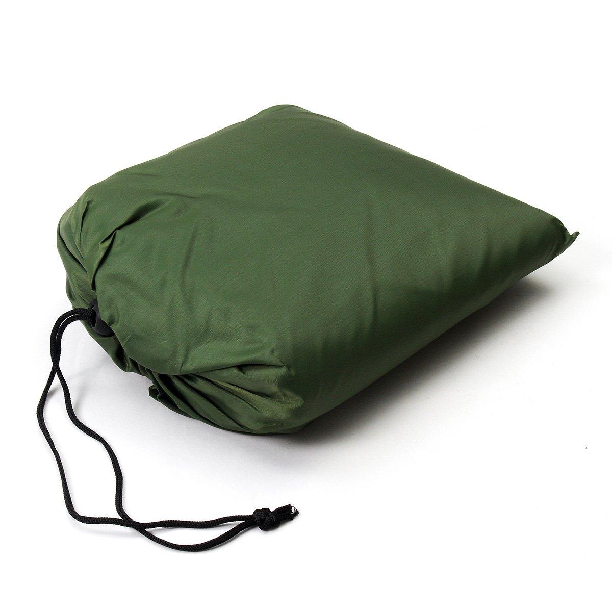 LaDicha Portátil 3-4 Persona Ligero Campamento Tienda Impermeable Lona Abrigo De Lluvia Alfombra Hamaca Cubierta: Amazon.es: Hogar