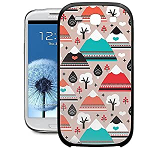 Bumper Phone Case For Samsung Galaxy S3 - South Western Mountain Ranges Protective Wrap-Around