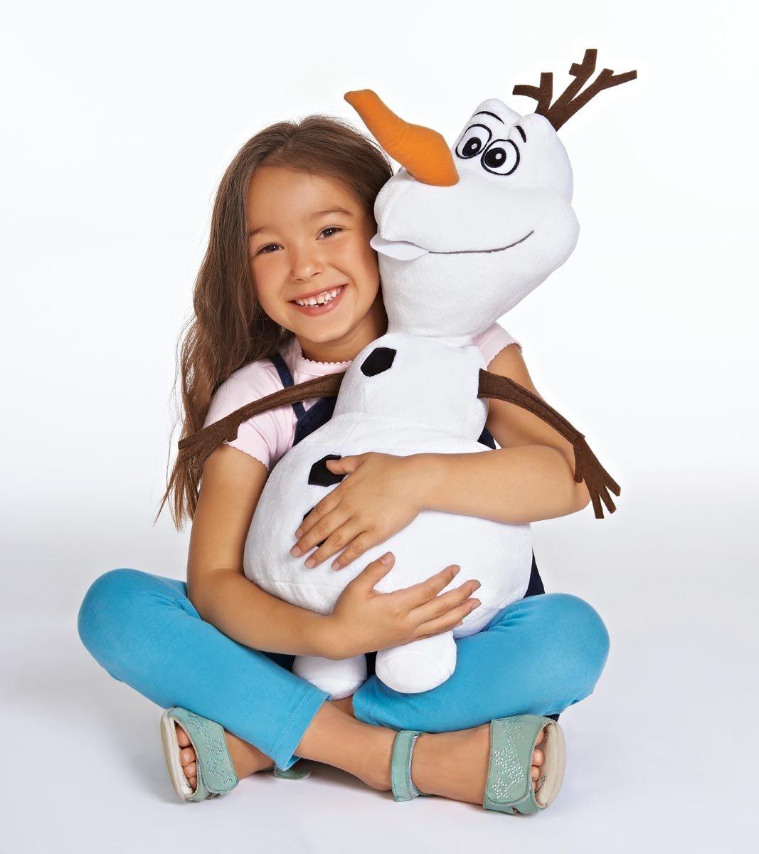 Amazon.com: PELUCHE GEANTE OLAF FROZEN LA REINE DES NEIGES 50 CM DISNEY: Baby