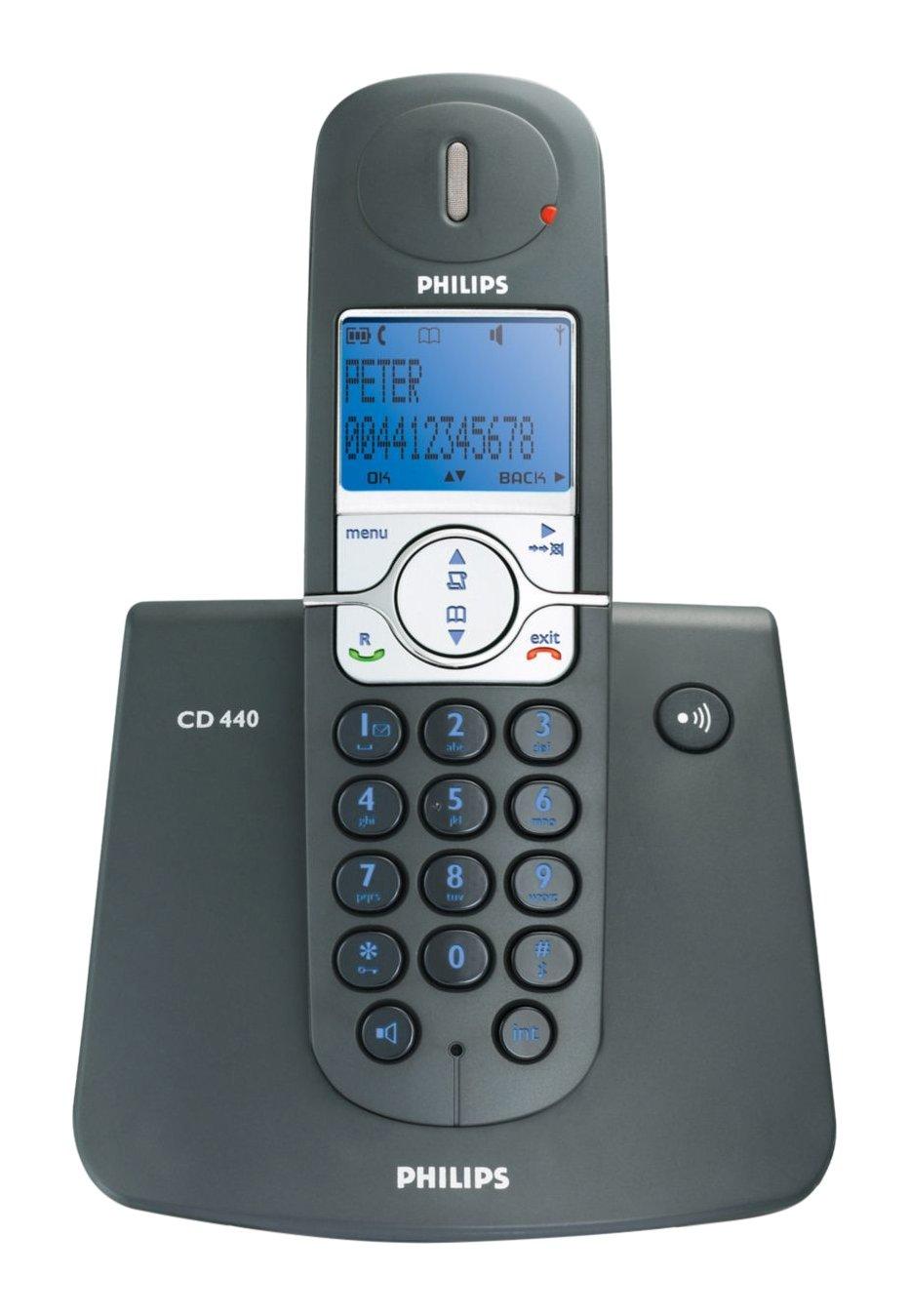 Philips CD 4401 High DefVoice Cordless Speaker Phone