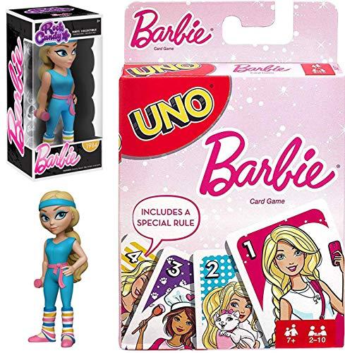 Gym Fashion 80's Barbie Workout Stylized Rock Candy