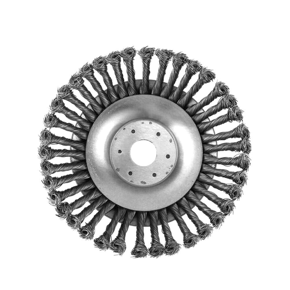 Jourbon Wildkrautb/ürste Motorsense zur Auswahl Wildkraut Fugenb/ürste Unkrautb/ürste f/ür nahezu alle Motorsensen auf dem Markt Unkrautb/ürste