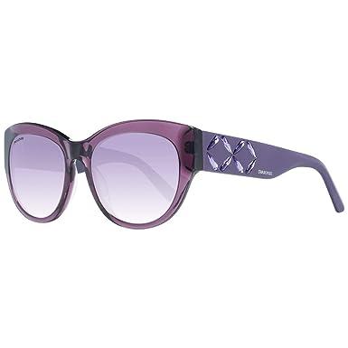 Swarovski Sonnenbrille SK0127 81Z 54 Gafas de Sol, Morado ...