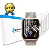 『改善版全面』AUNEOS Apple Watch フィルム Series 4 44mm Apple Watch 保護フィルム TPU製 気泡レス 高透過率 耐指紋 アップルウォッチ フィルム (Series 4 44mm, 5枚)