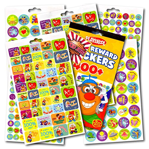 Playskool Stickers~Over 400 Fun Reward and Motivational Stickers Bundled With Specialty GWW Reward Sticker