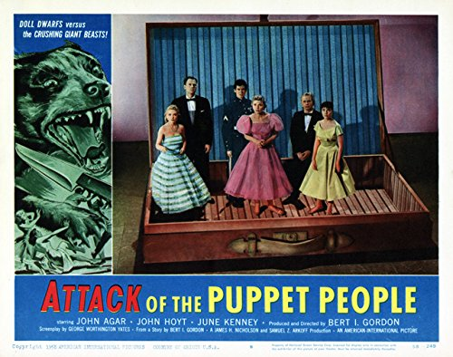 Attack of the Puppet People, Lobby Card Movie Poster Replica 11 X 14