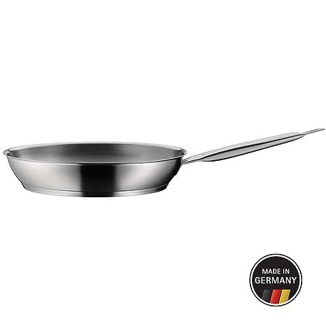 WMF Gourmet Plus Sartén, Acero Inoxidable, 24 cm