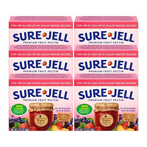 Sure Jell No Sugar Pectin, 1.75 oz (Pack of 6)