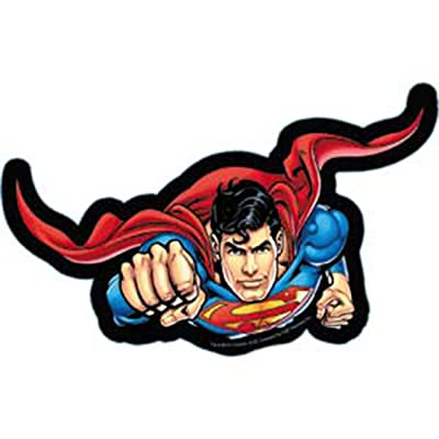 C&D Visionary Licenses Products DC Comics Superman Flying Sticker: Toys & Games
