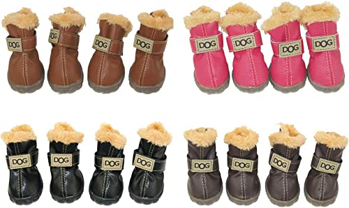 WINSOON-Dog-Australia-Boots-Pet-Antiskid-Shoes-Winter-Warm-Skidproof-Sneakers-Paw-Protectors