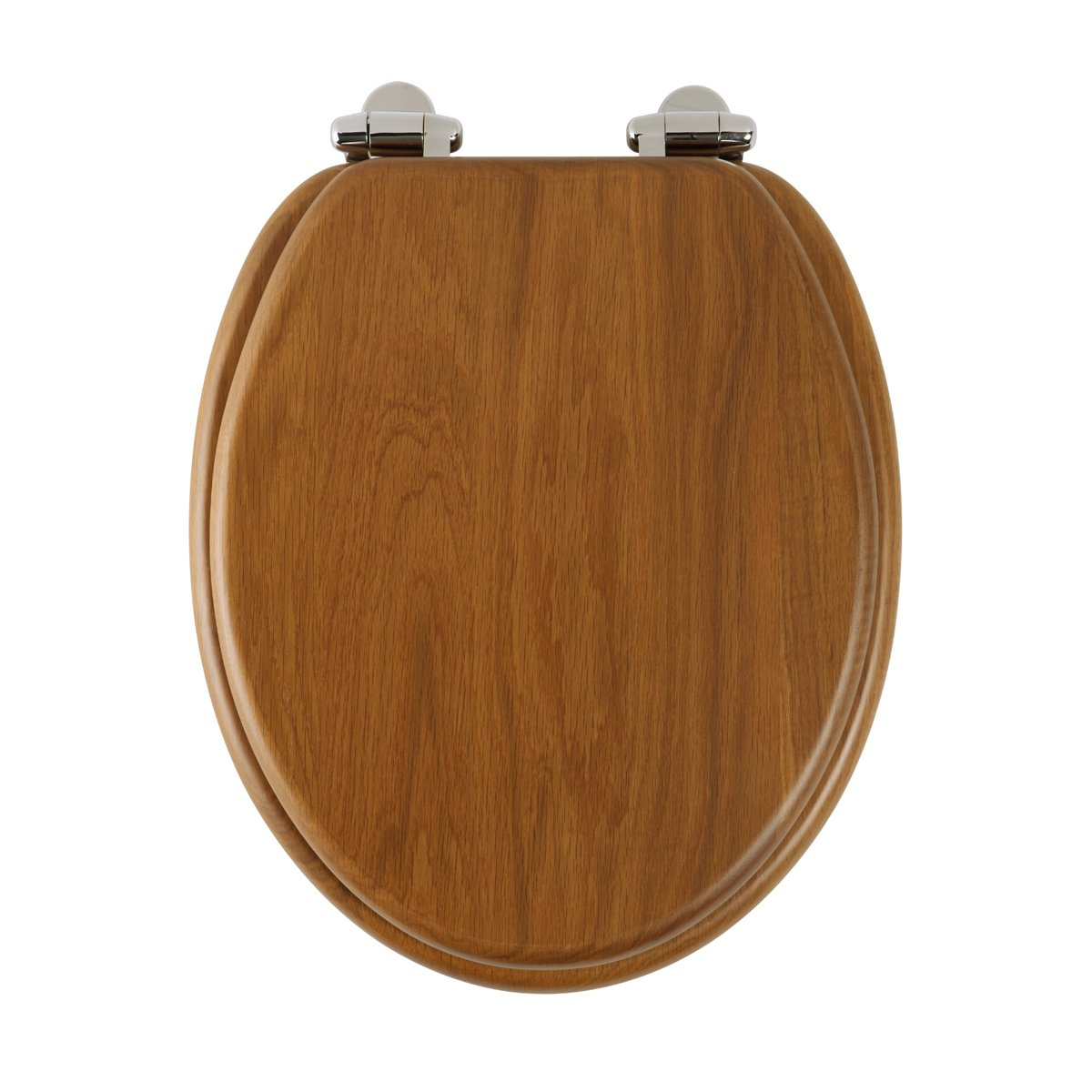 Roper Rhodes Honey Oak Finish Toilet Seat With Soft Close Hinge - Oak toilet seat soft close