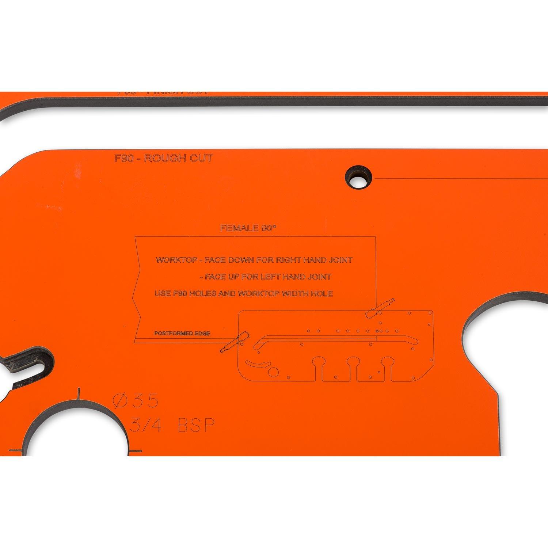 UJK Technology Angle Adjustment Plate For Worktop Jigs