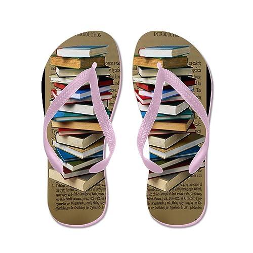 b887097cebbb56 CafePress - Book Lovers Flip Flops - Flip Flops