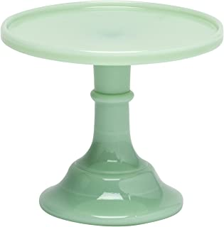 """product image for Jadeite 6"""" Glass Cake Stand - By Mosser Glass"""