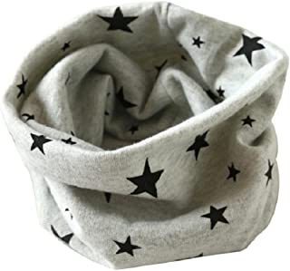 Changeshopping Autumn Winter Boys Girls Collar Baby Scarf Cotton O Ring Neck Scarves (Blue)