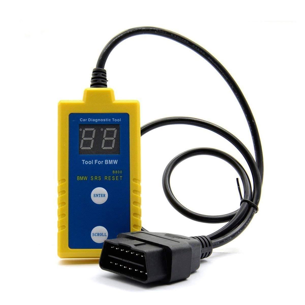 Proscan Automotive SRS airbag Outil de r/éinitialisation Diagnostic Scanner Lecteur de Code pour E Z S/érie X