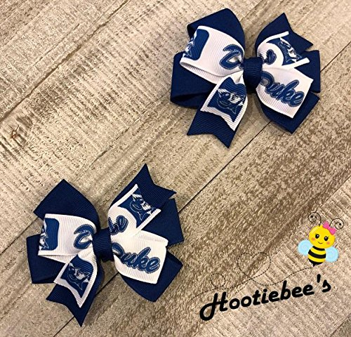 Duke Blue Devils Toddler Hair Bow Set
