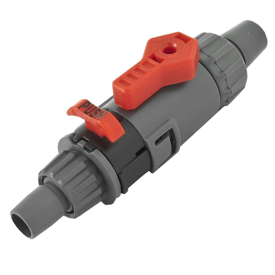 sourcingmap Raccord de flexible avec contrôle du débit pour aquarium 12/16mm a13080900ux0931