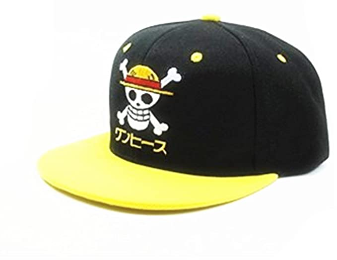 1d949f4d259 Amarly Anime One Piece Cosplay Canvas Snapback Cap Hip Hop Baseball Sports  Hat (Type B