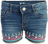 p.s. from aeropostale Girls Denim Shorts, Dark Wash Aztec, Size 10'