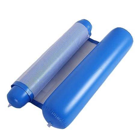 Cozywind Colchoneta de Piscina Hamaca Flotante 130x73cm (Azul Oscuro)