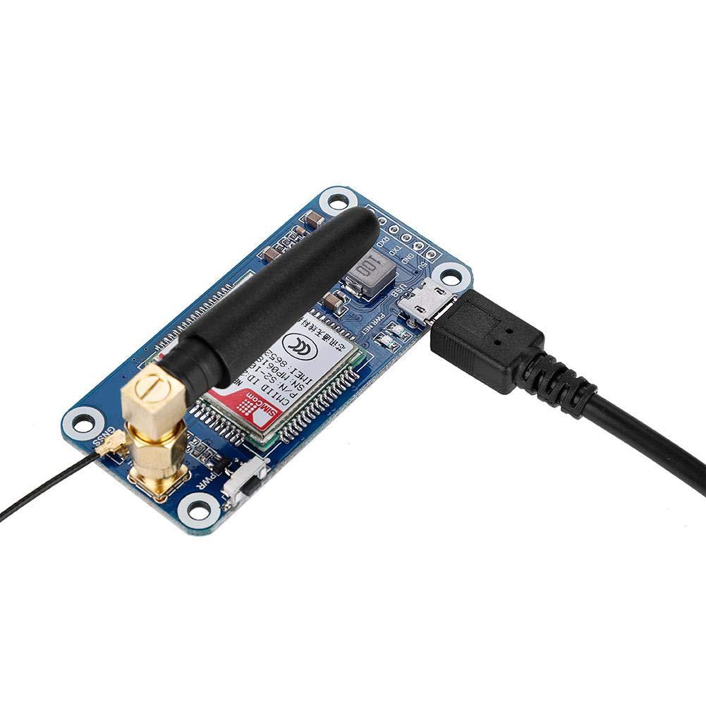 2B Bewinner Placa de expansi/ón NB-IoT//eMTC//Edge//GPRS//GNSS Placa de expansi/ón para Raspberry Pi Cero//Cero W//Cero WH 3B 3B