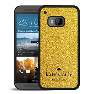 Unique Designed Kate Spade Cover Case For HTC ONE M9 Black Phone Case 244