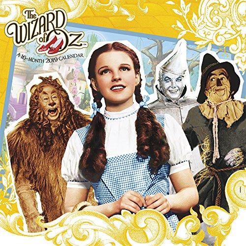 2019 The Wizard of Oz Wall Calendar