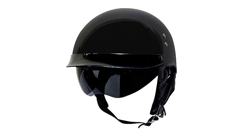 Voss 888FRP Hand Laid Fiberglass DOT Half Helmet