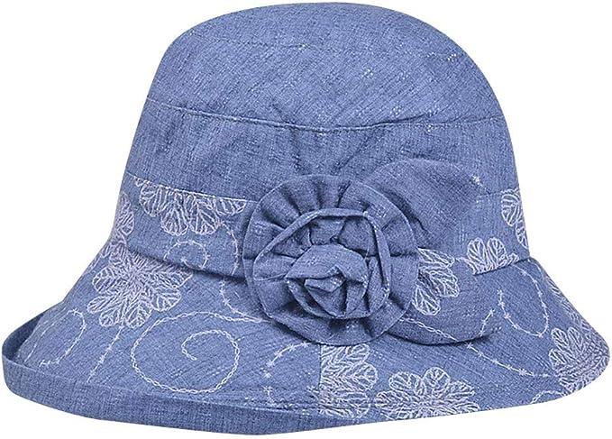 LOPILY Sombrero de Playa Sombrero de Las señoras Arco Protector ...