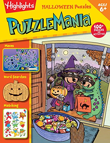Halloween Puzzles (HighlightsTM  Puzzlemania® Activity Books)]()
