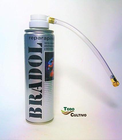 Todo Cultivo Bradol Kit antipinchazo. Spray repara pinchazos ...