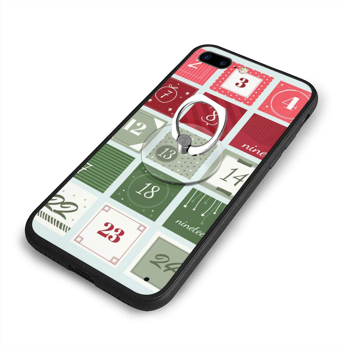 check out 365c9 f7469 Amazon.com: RONG FA Advent Calendar Printable Apple Cell Phone Case ...