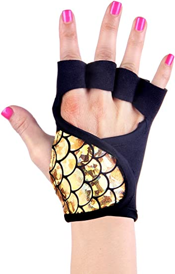 Amazon.com: Womens Workout Guantes | Mermaid Collection ...