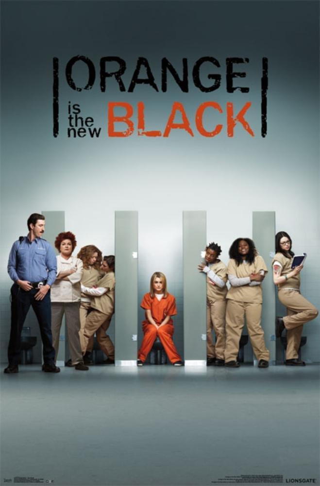 Orange Black - One Sheet Poster 22 x 34in