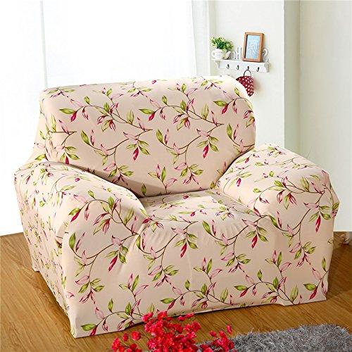 RUGAI-UE Sofa Slipcover Pure color elastic sofa cover antiskid sofa cover full cover four seasons garden sofa towel,Single person 90-140cm,Rapidly go up in the world