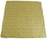 Pillobebe Certified Organic Cotton Play Mat (Yellow Pebbles)