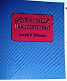 A Guide to MLA Documentation 9780395496787