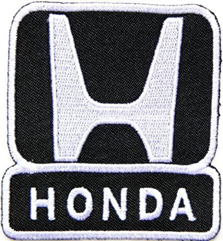 HONDA Logo Sign Car Racing Patch Iron on Applique Embroidered T shirt Jacket BY SURAPAN - Auto Brake Tune