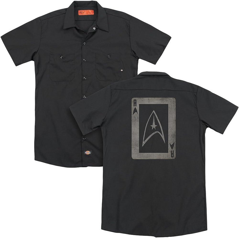 Star Trek Tos Ace Adult Work Shirt
